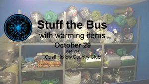 Stuff the Bus at Quail Hollow