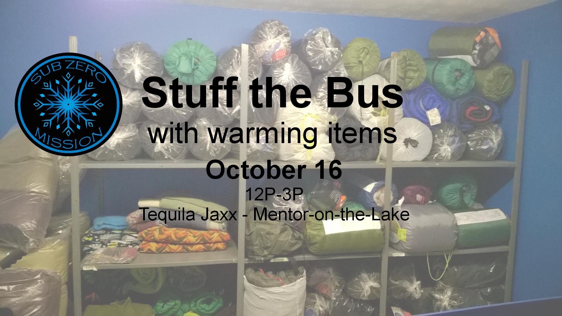Stuff the Bus at Tequila Jaxx
