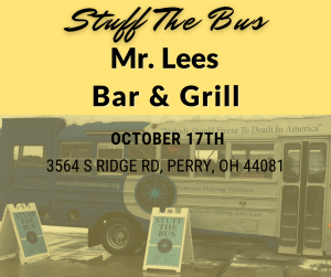 Mr. Lees Bar & Grill Stuff The Bus