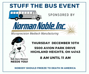 Stuff the Bus with Norman Noble, Inc